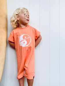 Factory seconds - SS Yin & Yang Baggy Playsuit - Size 3-4 years