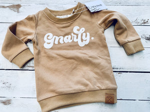 Gnarly groms crew neck
