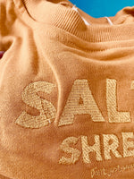 Salty Shreds ladies embroidered crew