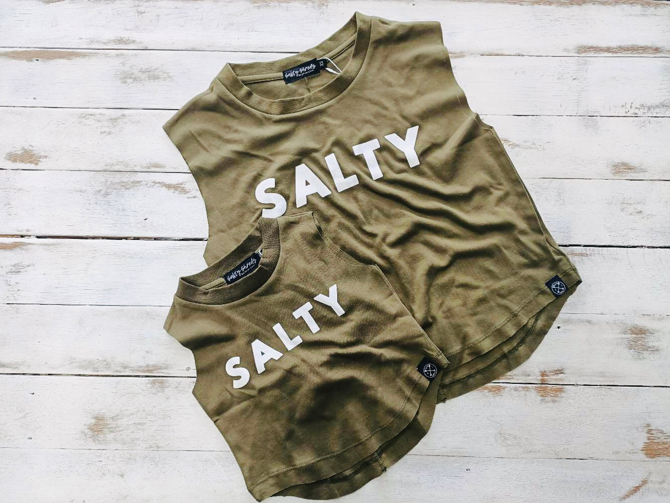 'Salty' Ladies Tank