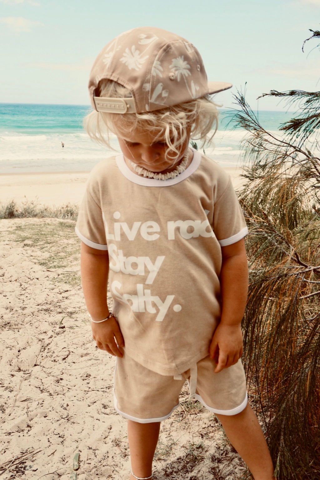 """Live rad, stay salty"" old skool organic set"