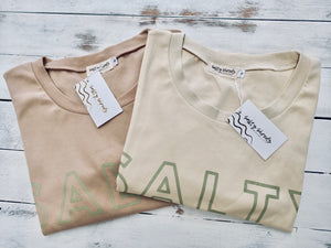 SALTY t-shirt dress