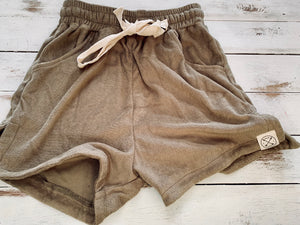 Terry Towelling beach shorts