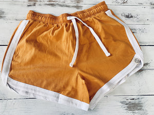 Ladies retro organic shorts