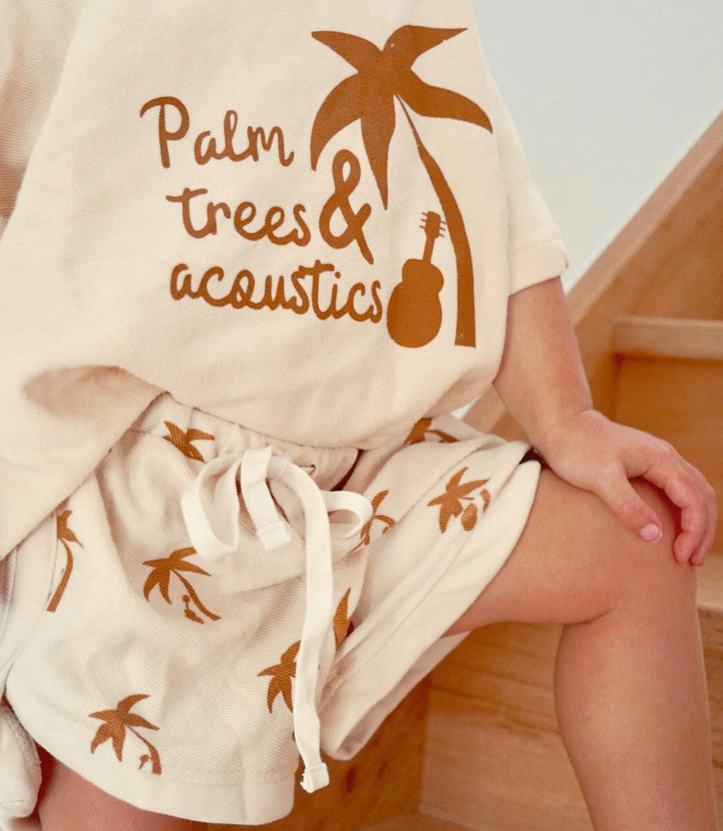 Palm Trees & Acoustics Special edition Baggy Tee