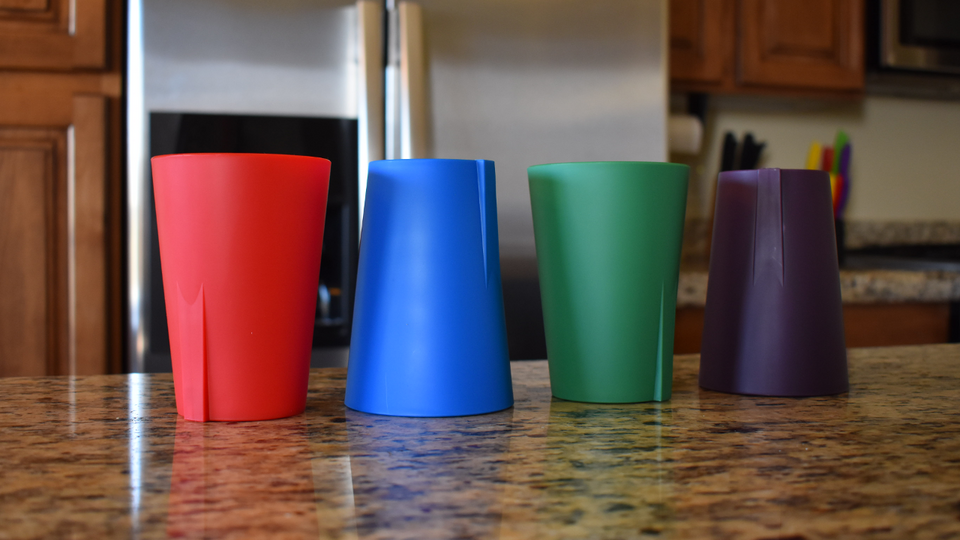 Set of 4 Stick Up Cups - ON SALE FOR A LIMITED TIME ONLY -