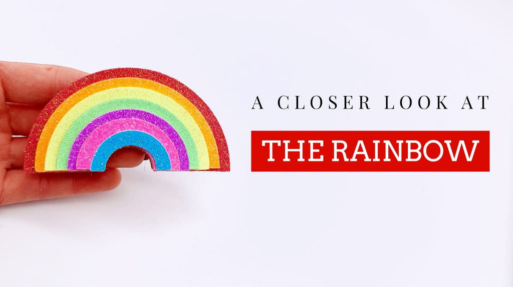 A Closer Look: The Rainbow Die & Template