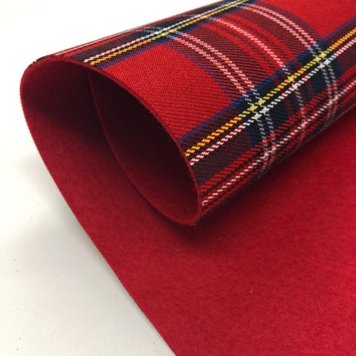Tartan Fabric Felts - Jolif The Craft Shop