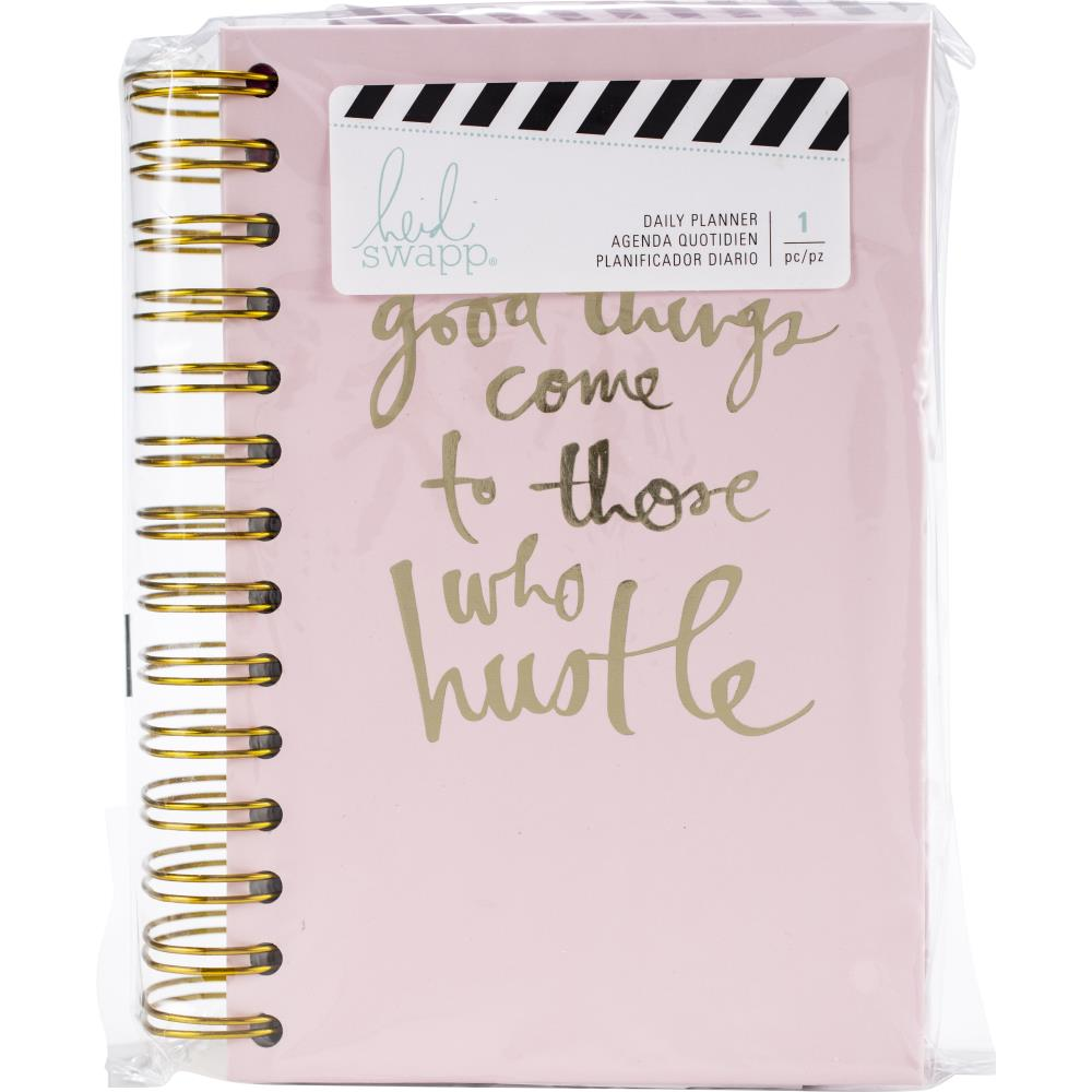 Heidi Swapp Spiral Bound 12-month Undated Planner - Jolif The Craft Shop
