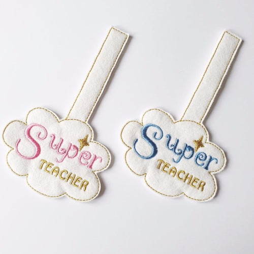 Super Teacher Keyring