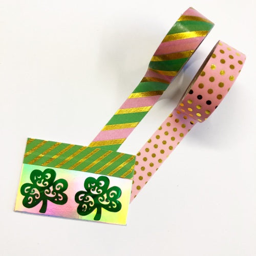 Lucky Shamrocks (set of 2) - Jolif The Craft Shop