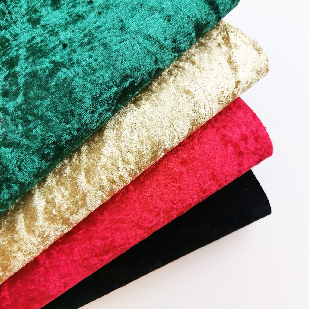 Festive Crushed Velvets - Jolif The Craft Shop