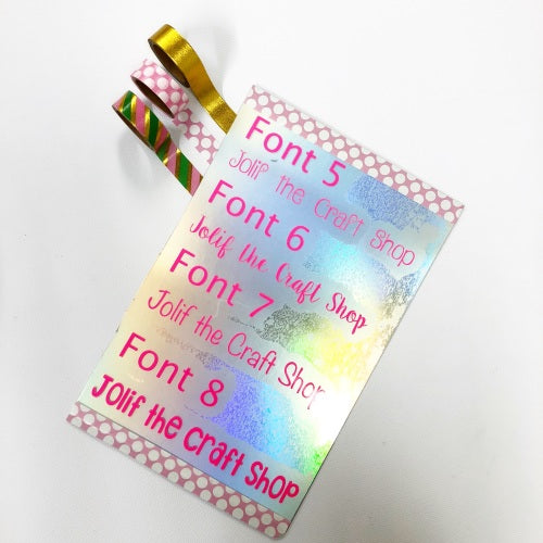 Miniature Quotes / Phrases - Jolif The Craft Shop