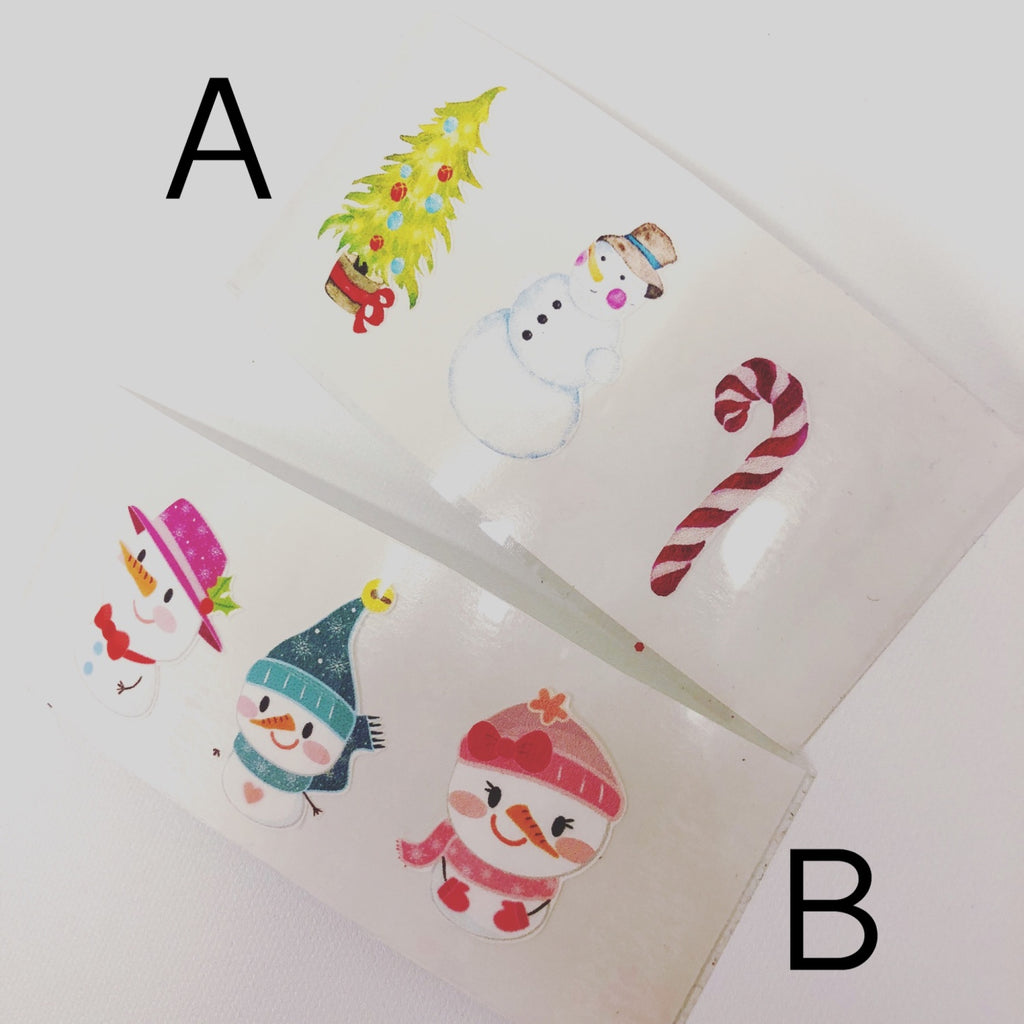 Happy Snowman Colour Vinyls - Jolif The Craft Shop