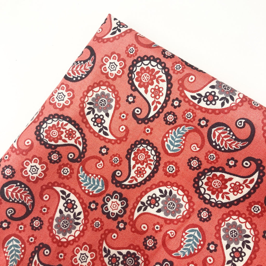 Paisley Budget Fabric Felt - Jolif The Craft Shop
