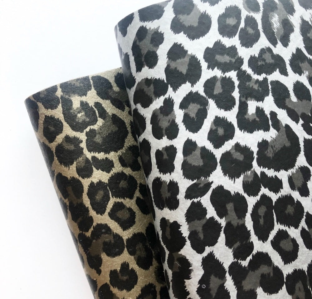 Leopard Matte Vinyl Felt - Jolif The Craft Shop