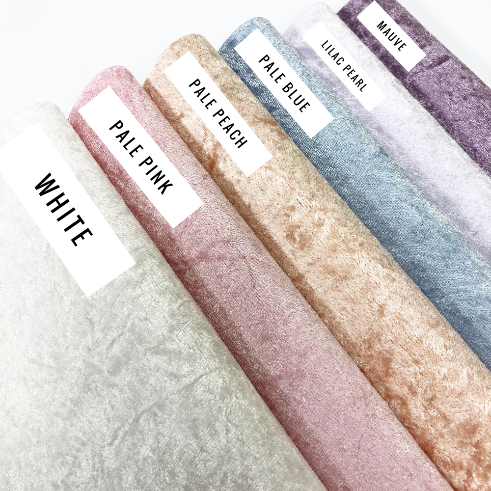 Pastel Crushed Velvet - Jolif The Craft Shop
