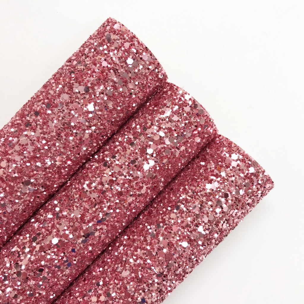Dusky Pink Chunky Glitter - Jolif The Craft Shop