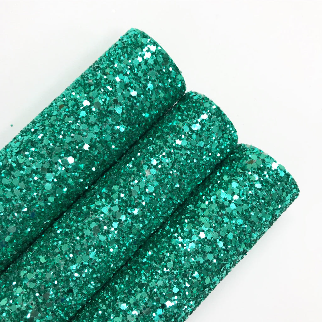 Jade Green Chunky Glitter - Jolif The Craft Shop