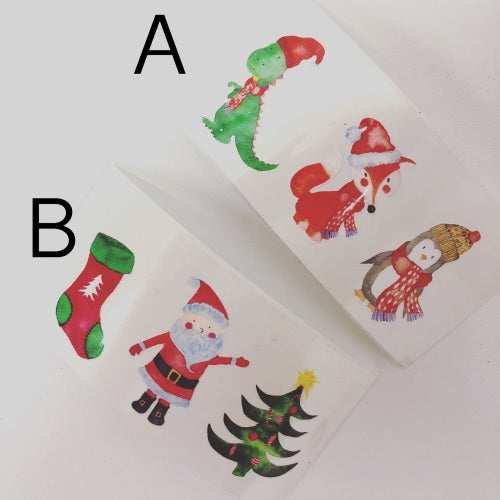 Christmas Friends Colourful Vinyls - Jolif The Craft Shop