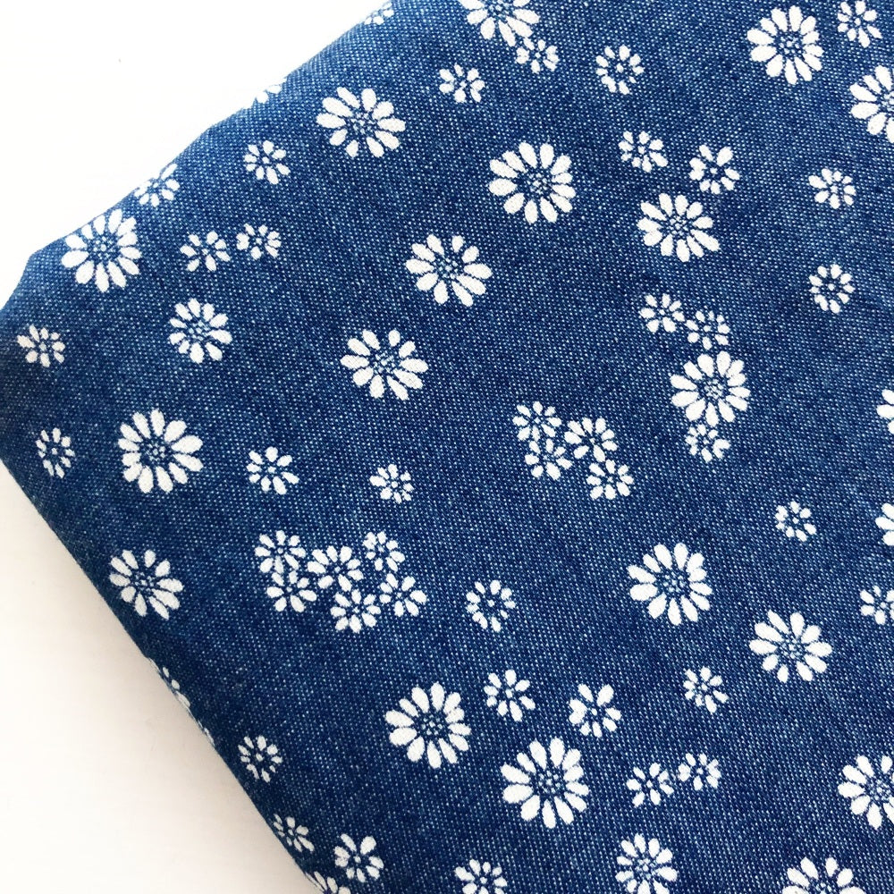 Denim & Patterned Denim Fabric Felt - Jolif The Craft Shop