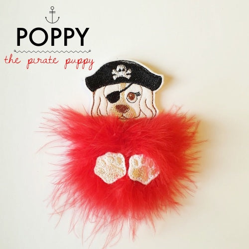 Poppy the Puppy Pirate Fur Baby