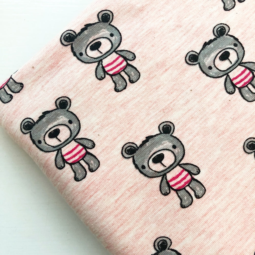 Teddy Bear Jersey Fabric Felt - Jolif The Craft Shop
