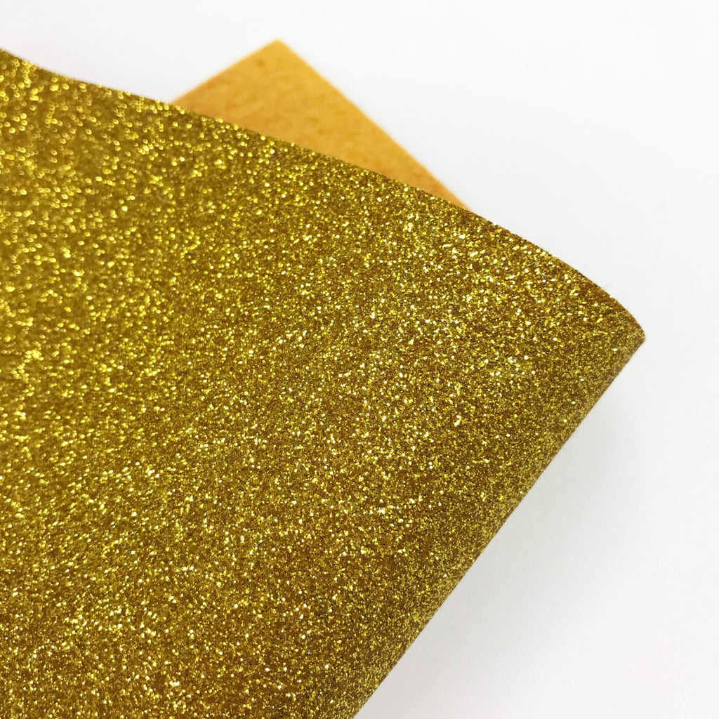 Gold Glitter Felt - Jolif The Craft Shop