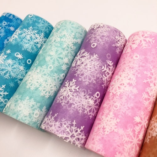 Snowflake Tulle - Jolif The Craft Shop