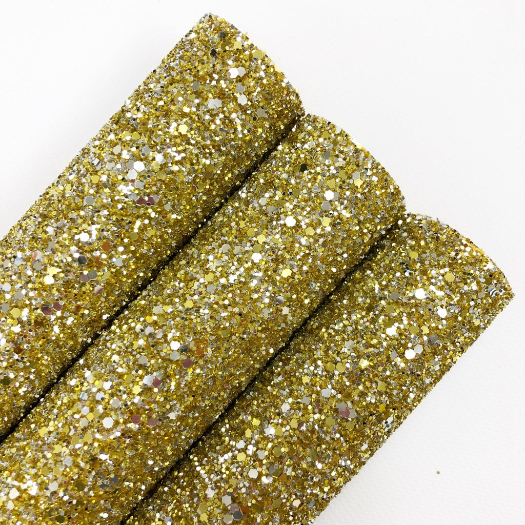 Tiffany Gold & Silver Chunky Glitter - Jolif The Craft Shop