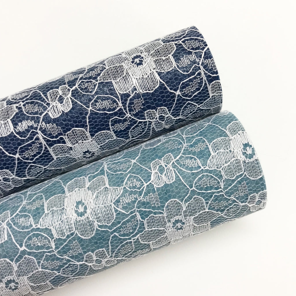 Denim Effect Lace - Jolif The Craft Shop
