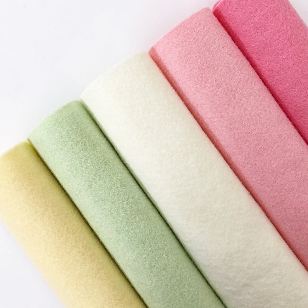 Summer Bloom Rayon Felt Collection - Jolif The Craft Shop