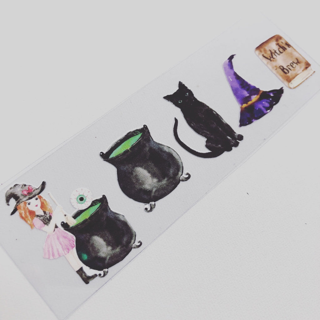 Little Witch Colourful Vinyls - Jolif The Craft Shop