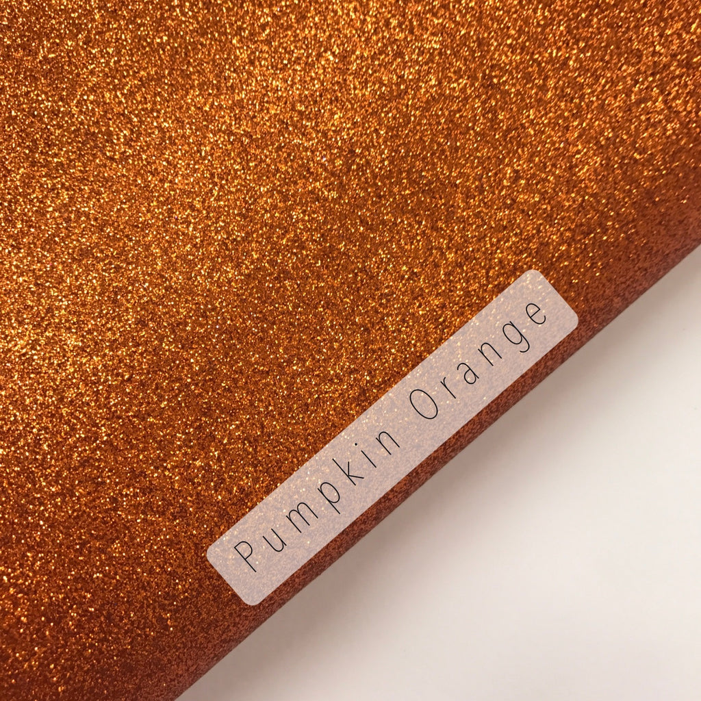 Pumpkin Orange Fine Glitter
