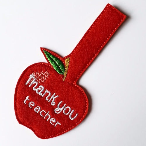 Thank You Teacher Key Ring - Jolif The Craft Shop
