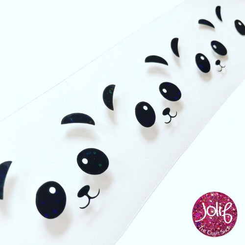 Panda Vinyl (set of 2) - Jolif The Craft Shop