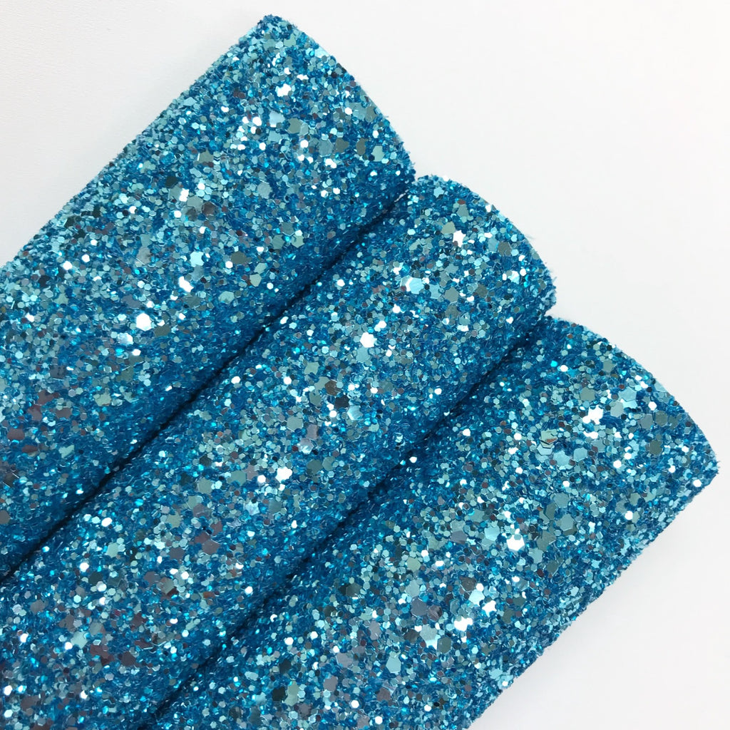 Sky Blue Chunky Glitter - Jolif The Craft Shop