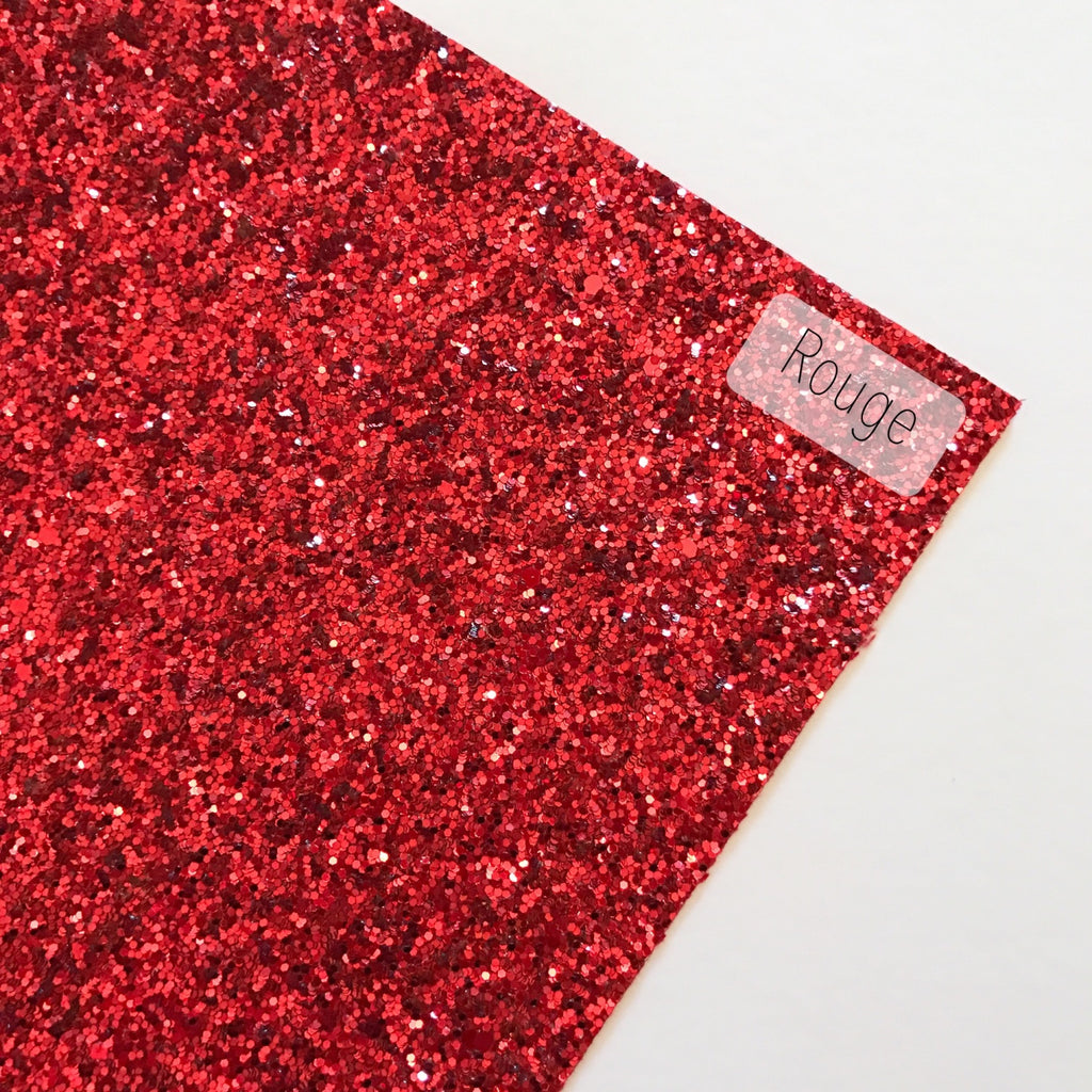 Rouge Chunky Glitter - Jolif The Craft Shop