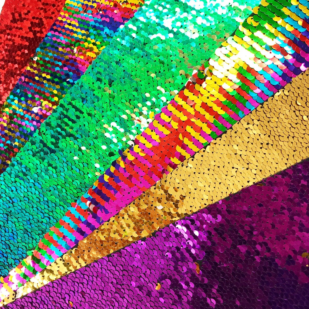 Reversible Sequin Fabric Felt - Jolif The Craft Shop