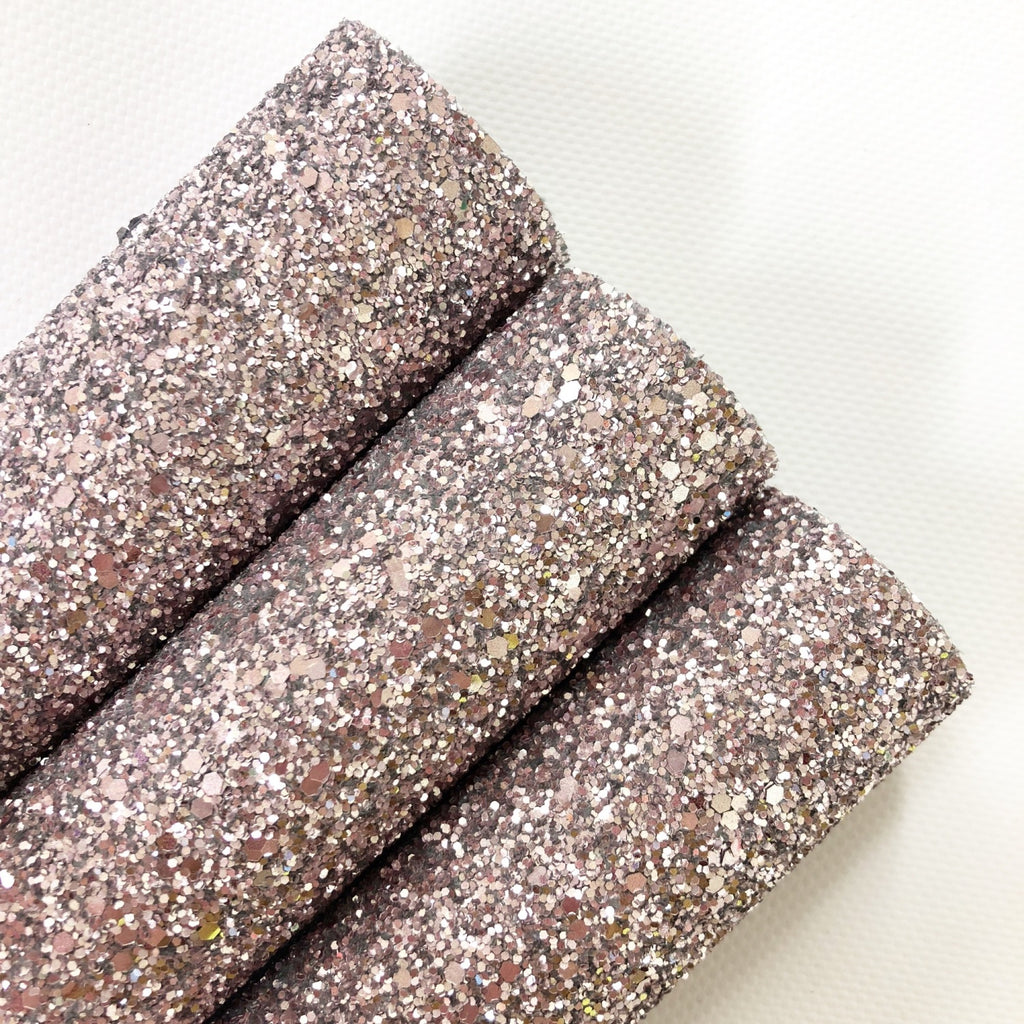 Pale Rose Chunky Glitter - Jolif The Craft Shop