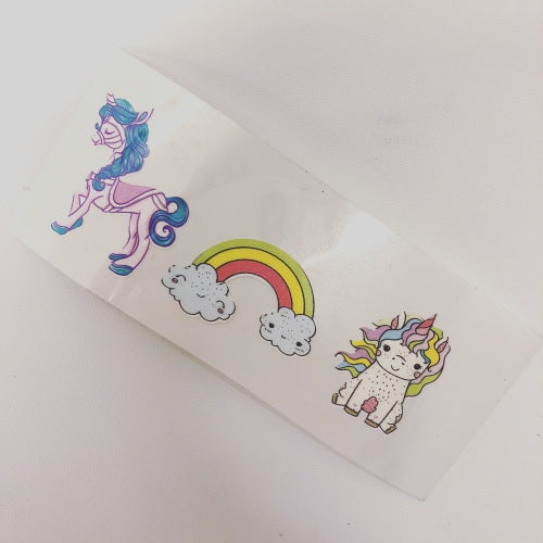 Rainbows and Unicorns Colourful Vinyls - Jolif The Craft Shop
