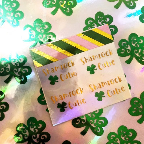 Shamrock Cutie (set of 2) - Jolif The Craft Shop