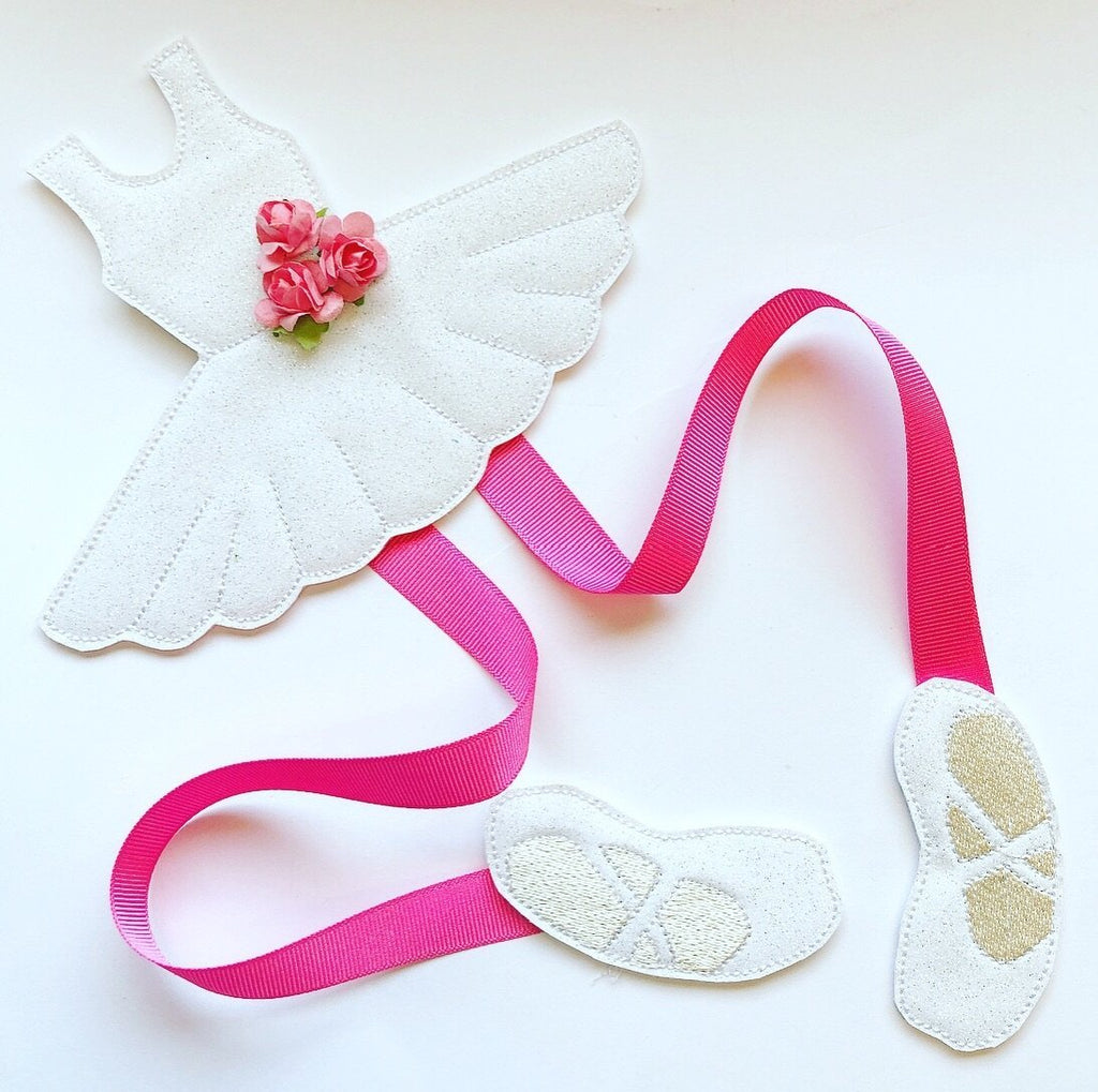 Ballet Girl Bow Holder