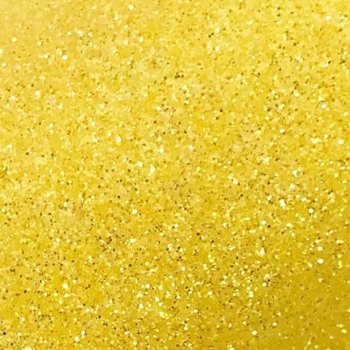 Lemon Glitter HTV