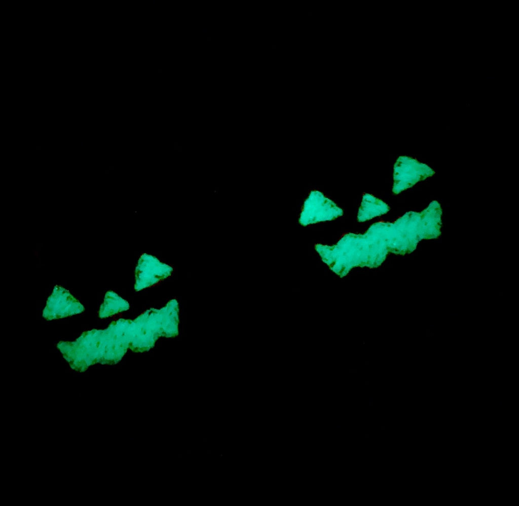 Glow in the Dark Pumpkin Felties