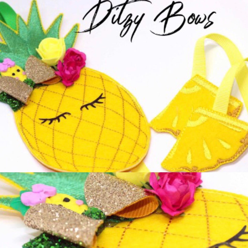 Pineapple Bow Holder