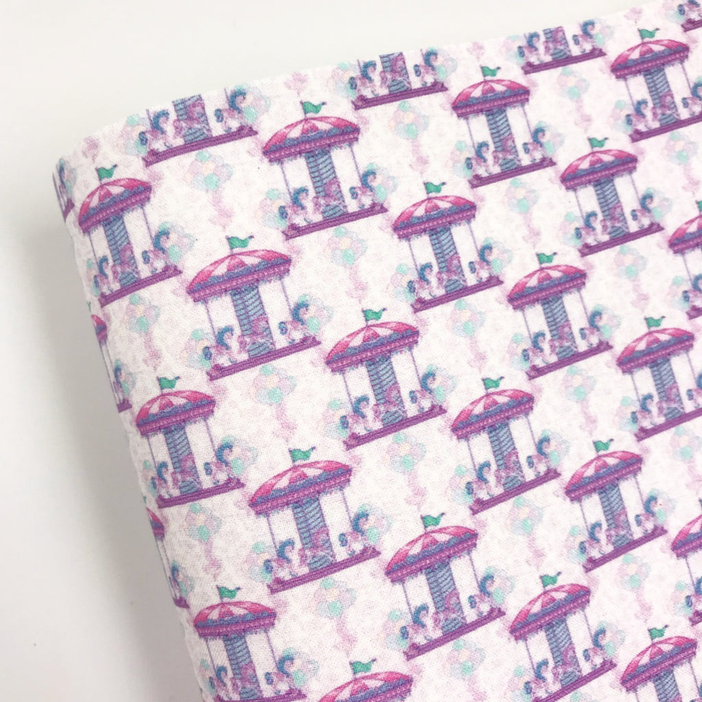 Unicorn Carousel Fabric Felt - Jolif The Craft Shop