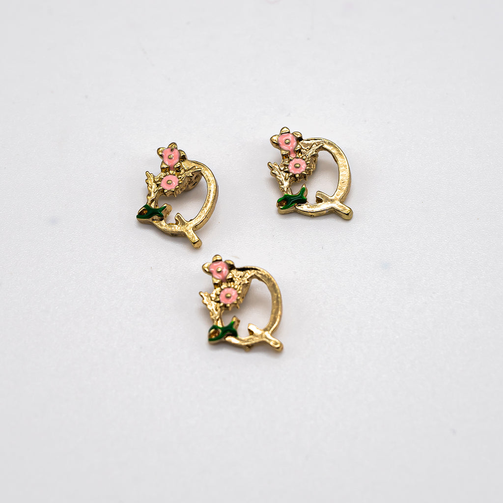 Fanciful Initial Charms - Jolif The Craft Shop