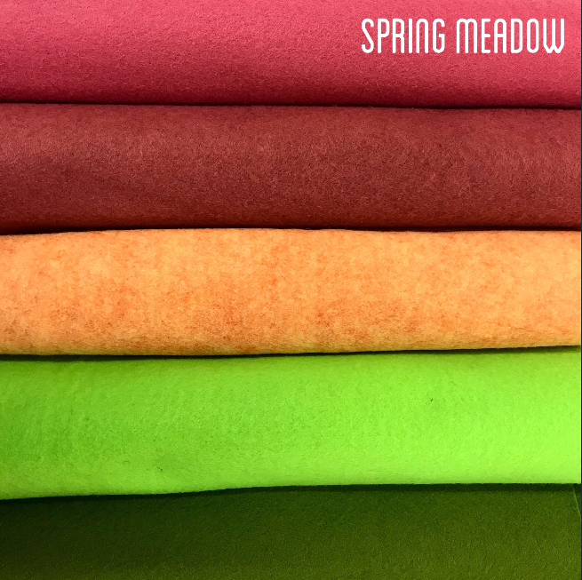 Spring Meadow Rayon Felt Collection - Jolif The Craft Shop
