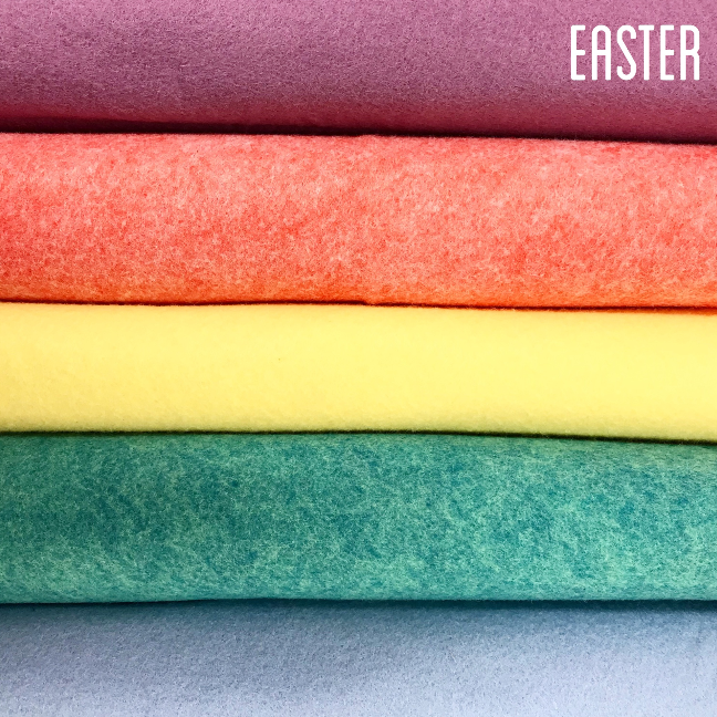 Easter Rayon Felt Collection - Jolif The Craft Shop